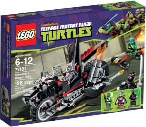 LEGO Turtles 79101 Smoczy motor Shreddera
