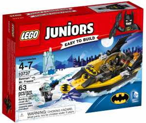 LEGO 10737 Juniors Batman kontra MR Freeze
