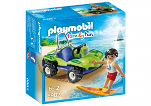 PLAYMOBIL 6982 Surfer z buggy