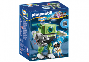 PLAYMOBIL 6693 Robot Cleano