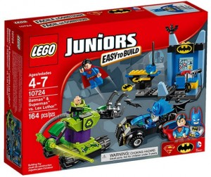 LEGO 10724 Juniors Batman i Superman kontra Lex Luthor