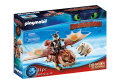 PLAYMOBIL 70729 DRAGONS Dragon Racing: Śledzik i Sztukamięs