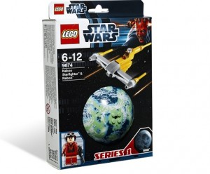LEGO 9674 Star Wars Naboo Starfighter &...
