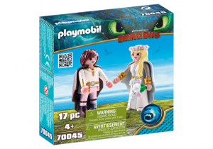 PLAYMOBIL 70045 Astrid i Hiccup