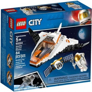 LEGO ® 60224 CITY Naprawa satelity