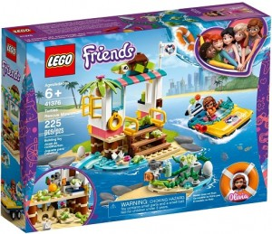 LEGO ® 41376 FRIENDS Na ratunek żółwiom