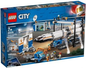 LEGO ® 60229 CITY Transport i montaż rakiety
