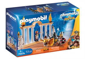 PLAYMOBIL: THE MOVIE Cesarz Maximus w Koloseum