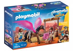 PLAYMOBIL: THE MOVIE Marla Dell i skrzydlaty koń
