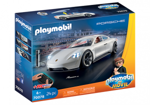 PLAYMOBIL: THE MOVIE 70078 Porsche Mission E Rex'a Dasher'a