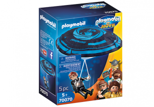 PLAYMOBIL: THE MOVIE Rex Dasher ze spadochronem
