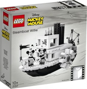 LEGO ® 21317 Ideas Parowiec Willie