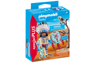 PLAYMOBIL 70062  Wódz Indian
