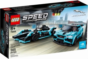 LEGO ® 76898 SPEED CHAMPIONS Formula E Panasonic Jaguar Racing GEN2 car i Jaguar I-PACE eTROPHY