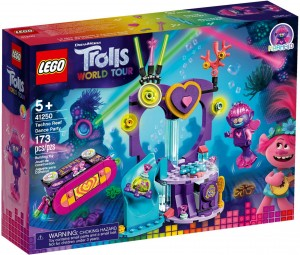 LEGO® Trolls World Tour 41250 Impreza techno na rafie