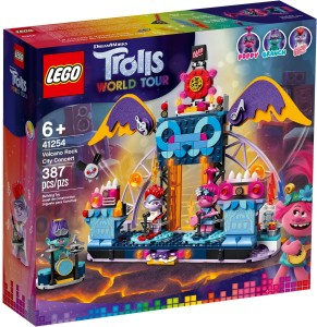 LEGO® TROLLS WORLD TOUR 41254 Koncert w Volcano Rock City