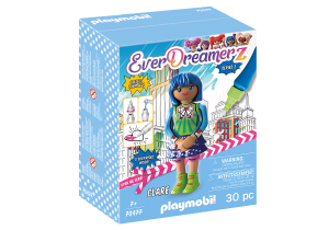 PLAYMOBIL 70477 Clare - Comic World