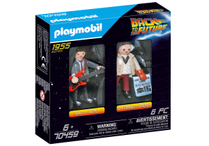 PLAYMOBIL 70459 Back to the Future Marty Mcfly i Dr. Emmett Brown
