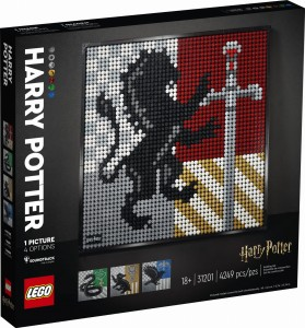 LEGO ® 31201 ART Harry Potter Herby Hogwartu