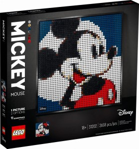 LEGO ® 31202 ART Disney's Mickey Mouse