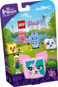 LEGO ® 41665 FRIENDS Kostka Stephanie z kotem
