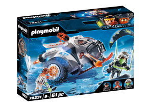 PLAYMOBIL 70231 TOP AGENTS Spy Team Pojazd śnieżny