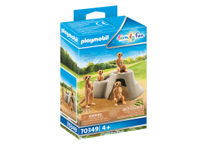 PLAYMOBIL 70349 FAMILY FUN Surykatki