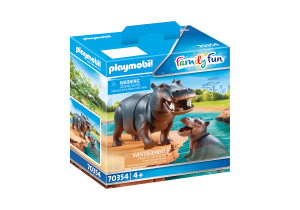 PLAYMOBIL 70354 FAMILY FUN Hipopotamy