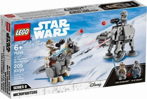 LEGO ® 75298 STAR WARS Mikromyśliwce: AT-AT™ kontra Tauntaun™
