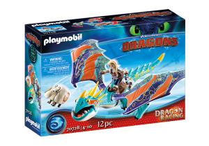PLAYMOBIL 70728 DRAGONS Dragon Racing: Astrid i Wichura