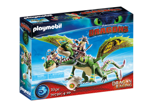 PLAYMOBIL 70730 DRAGONS Dragon Racing: Szpadka i Mieczyk z Jot & Wym