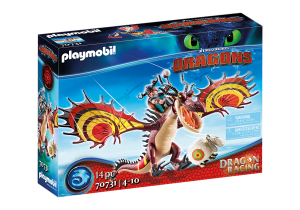 PLAYMOBIL 70731 DRAGONS Dragon Racing: Sączysmark i Hakokieł