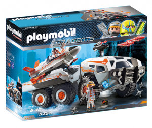 PLAYMOBIL 9255 Wehikuł bojowy Spy Team