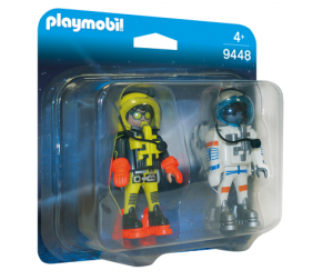 PLAYMOBIL ® 9448 Duo Pack Astronauci