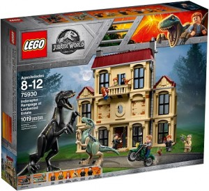 LEGO ® 75930 Jurassic World Atak Indoraptora