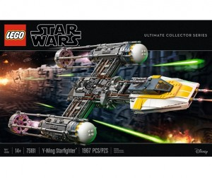 LEGO ® 75181 Star wars Y-wing Starfighter