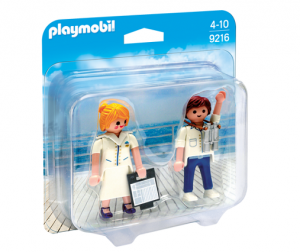 PLAYMOBIL 9216 Duo Pack Stewardesa i oficer