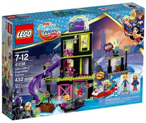 LEGO 41238 DC Super Hero Girls Fabryka Kryptomitu Leny Luthor