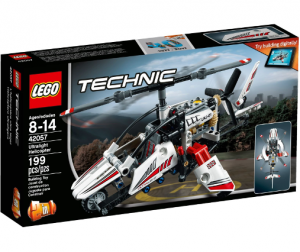 LEGO 42057 Technic Ultralekki helikopter