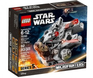 LEGO ® 75193 Star Wars Microfighters Sokół Millenium