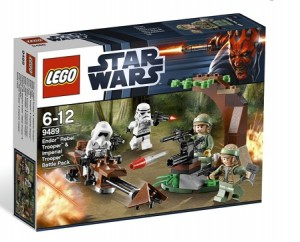 LEGO 9489 Star Wars Endor Rebel Trooper &