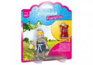 PLAYMOBIL 6883 Fashion Girl - Lata 50