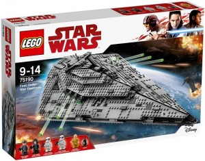 LEGO® 75190 First Order Star Destroyer