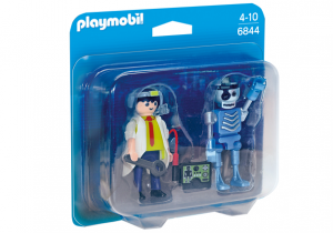 PLAYMOBIL 6844 Duo Pack Profesor i robot