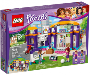 LEGO 41312 Friends Centrum Sportu