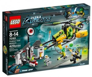 LEGO 70163 Ultra Agents Sekretne laboratorium