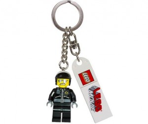 LEGO Movie 850896 Bad Cop Key Chain