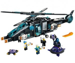 LEGO 70170 Ultra Agents Ultrakopter kontra AntiMatter