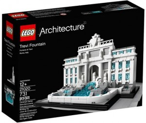 LEGO 21020 Architecture Trevi Fountain