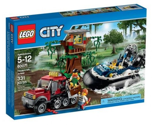 Lego 60071 City Wielkie Zatrzymanie Worldtoyspl